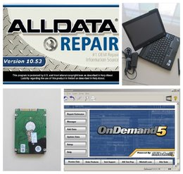 Wholesale Hyundai Direct - 2 in1 Alldata 10.53+Mitchell on demand installed well on 1TB plus the X200T Laptop 2GB Can Direct Use