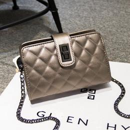 Wholesale Diamond Real - 2016 new female Korean tide small real diamond chain small mini bag shoulder bag lady cross