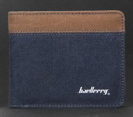 Wholesale Vintage Punk Purse - Punk Vintage Retro Canvas Wallet Men's Pockets Card Clutch Cente Mility Zipper Bifold Purse coin holder