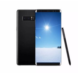 Wholesale Note 1gb - 6.2inch Goophone note 8 Note8 1GB 4GB Quad core show 128GB fake 4G LTE unlocked Cellphone