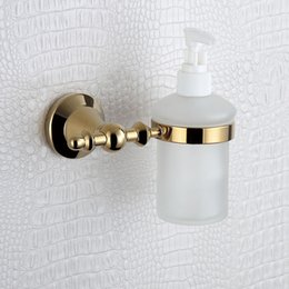 Wholesale Hand Shower Gold - Gold Shower Soap Dispenser and Holder with Wholesales , Kitchen Sink Soap Dispenser with 304 Stainless Steel and Copper
