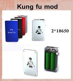 2019 mod moduli non regolati Mod meccanico di sigaretta più caldo mod Kung Fu mod mech mod Smy scatola di kungfu non regolamentata mod kungfu mech mod Smy 260 watt box mod TZ210 mod moduli non regolati economici
