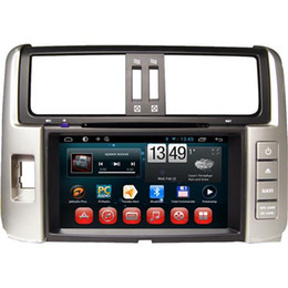 Wholesale Toyota Prado Android - Android Car DVD Players Popular Car DVD Players Fit for TOYOTA PRADO 2012 2013 8 Inch Screen Built-in GPS Navigation 8005A