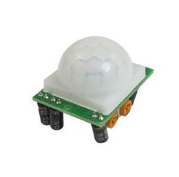 Wholesale Ir Motion Detectors - New Arrival Adjust IR Pyroelectric Infrared IR PIR Motion Sensor Detector Module HC-SR501 Free Shipping