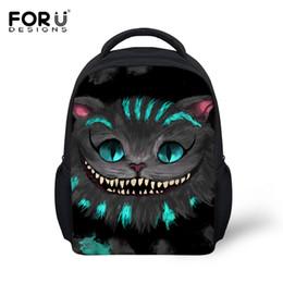 bfee3ae74e8a Forudesigns Children Fashion Shoulder Backpack Cute 3d Cat Kids School Book  Bagpack For Boys Girls Mochilas Infantils Rucksacks