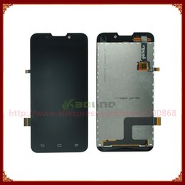 Wholesale Zte Quad - Wholesale-For ZTE Grand X Quad V987 LCD Screen Display With Touch Screen Digitize Free Shipping