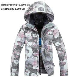 Wholesale Cheap Parka Jackets Men - Wholesale-New Women Cheap Ski Jackets Snowboard Board Jacket Waterproof 10,000 MM Windproof 8,000 GM Padding Parka Jacket Outdoor wear