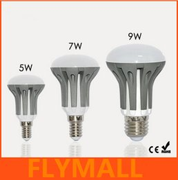 Wholesale E14 Smd Dimmable - New Arrival E14 E27 LED Dimmable 5W 7W 9W R39 R50 R63 Bulbs Energy Saving bright SMD 2835 led Spot Globe Bulb AC110-240V lamps lighting