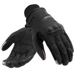 Wholesale Cross Country Designs - 2015 newest Netherlands REVIT H2O Cross country motorcycle gloves warm waterproof calfskin motorbike gloves with touch-screen design black