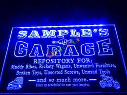 Wholesale Names Shops - DZ017-b Name Personalized Garage Repair Shop Room Bar Beer Neon Light Sign.JPG