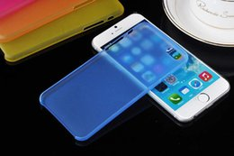 """Wholesale Mm Soft Case Iphone - Best Cheapest 0.3 mm slim ultrathin frosted soft cases for iphone6 4.7"""" best quality Factory Sale Directly"""