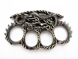 коллекция. Произведения искусства новый дизайн дракона четыре пальца костяшки отличные защитные инструменты самообороны от