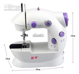 Wholesale Hand Embroidery Bedding Set - multifunctional sartorius Sewing machine Mini DIY household electric desktop hand sewing machine