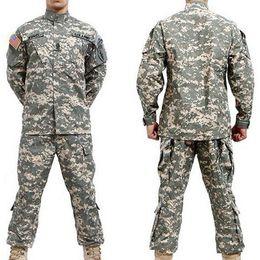Wholesale Acu S - Fall-BDU ACU Camouflage suit sets Army Military uniform combat Airsoft uniform -Only jacket & pants