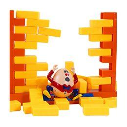 Wholesale Children Toys Shovel - Kids Educational Humpty Dumpty Desktop Toy 1 -4 Players Shovelling Demolish Wall Save The Egg Funny Game Toys For Children Gift