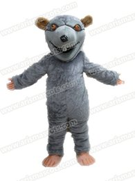 Wholesale Mouse Outfits - AM9241 mouse mascot costume Fur mascot suit animal mascot outfit adult fancy dress