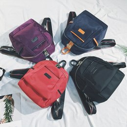 Wholesale Japanese Backpacks High School - Vero Michale Backpack Bag female female Korean 2017 krs bags new Japanese retro tide package all-match Mini school high school students