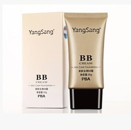 Wholesale Bb Cream Perfect - Free DHL Yangsang Perfect Cover BB Cream 50g Cosmetic Concealer Whitening Isolation Skin Care Natural Naked Makeup Concealer Soft Skin