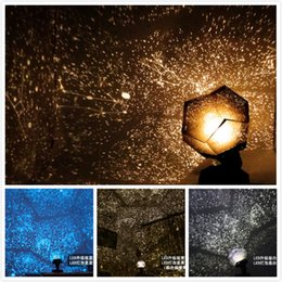 Wholesale Christmas Light Wedding - 2015 New Fantastic Celestial Star Projector Lamp Night Light Chrismas Funny DIY Romantic Valentine's Day Gift Xmas decoration gifts