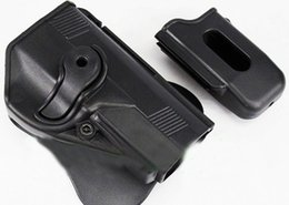 Wholesale Px4 Holster - IMI Style PX4 RH Pistol Paddle Holster w Mag Pouch Black