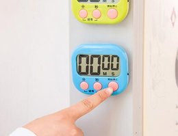 Wholesale Large Digital Timers - New Arrive Large LCD Digital Kitchen Cooking Timer Count-Down Up Clock Loud Alarm Magnetic