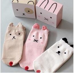 Wholesale Korean New Fashion For Boys - 2016 new Korean fashion cartoon baby kids socks boys girls children anti slip cotton socks meias sock for 0-2y 2-4y