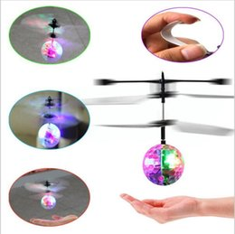 Wholesale Building Big - RC Toy RC infrared Induction Helicopter Ball Built-in Shinning LED Lighting for Kids, Teenagers Colorful Flyings for Kid 360 pcs YYA882