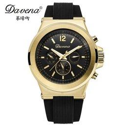 Wholesale Davena Watches - Wholesale-Free shipping womens sports wristwatch women dress classic watches fashion casual quartz watch Luxury brand Davena 31039 clocks