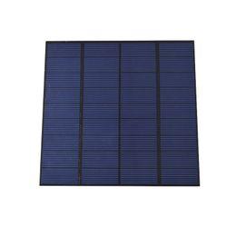 Wholesale Diy Phone Kits - 200Pcs Lot 3W 9V PET Laminated Polycrystalline Solar Cell Panel Mini DIY Solar Cell Size 145mm*145mm for DIY Solar Kit DHL Shipping