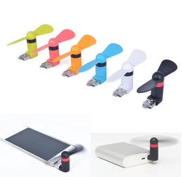 Wholesale Cheap Free Laptops - cheap Android pin8 USB Fan Multi-function Xiaomi 2th Micro USB MINI Portable Fan For Android Smart Phone Laptop Desktop with retail DHL Free