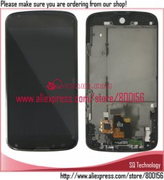 Wholesale Nexus Replacement Display - Wholesale-High Quality Replacement for LG Nexus 4 E960 LCD with Touch Screen Display Digitizer and Frame Assembly free shipping