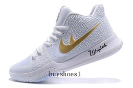 Wholesale Channel Close - Kyrie 3 N7 White and University Gold-Black For Sale Kyrie Channels Mamba Mentality With Kyrie 3 Bruce Lee Basketball Shoes Top Quality Dis