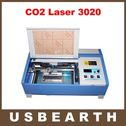 Wholesale Digital Machine Laser - New Version LY 3020 2030 CO2 Digital laser engraving cutting machine laser engraver with digital function and honeycomb