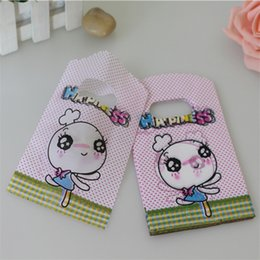 Wholesale Jewelry Bags Plastic Designs - Wholesale- Hot Sale New Design Wholesale 50pcs lot 9*15cm High Quality Cute Small Plastic Jewelry Pouches Chirstmas Packaging Gift Bags