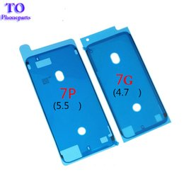 Wholesale Stickers Tape - 200PCS Front LCD Frame Housing Waterproof Sticker 3M Pre -Cut Adhesive Glue Tape Sticker For iPhone 6s plus 6sp 7 7g 7 Plus