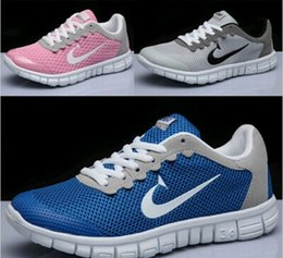 Wholesale Running Shoes Large - High quality summer flats sneakers sports and leisure shoes lightweight breathable mesh running shoes men shoes with large size 36-48