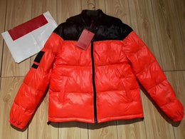 Wholesale X Men Jacket - 17FW T X SP Down Parkas Black Orange Windproof Thick Outerwear Good Quality Down Jackets HFXYYRF003