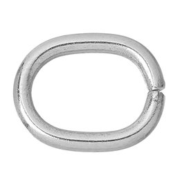 """Wholesale Oval Jump Rings Wholesale - Stainless Steel Opened Jump Rings Oval Silver Tone 13.5mm(4 8"""")x 11mm(3 8""""),50 PCs 2015 new"""