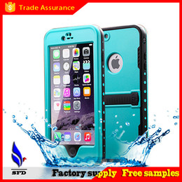 Wholesale Galaxy S4 Case Water Proof - redpepper Waterproof Case Shock proof case For Iphone 4S 5S 5C 6 6S Plus Samsung Galaxy S3 S4 S5 S6 Note 2 3 4