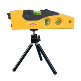 Wholesale Ranging Level - Wholesale-Mini Line Laser Level Marker TD9B 160 degrees Laser Range with Adjustable Tripod 86365