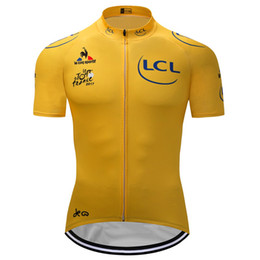 Wholesale Green Cycling Clothing - Crossrider 2017 Tour de France cycling jersey Mtb Bicycle Clothes classic Bike Wear Clothes Short Maillot Roupa Ropa De Ciclismo uniform