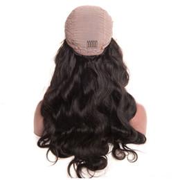 9a cabello humano blanqueado nudos pelucas frontales del cordón del pelo del bebé brasileño malasio peluca de encaje tamaño medio suizo encaje peluca frontal desde fabricantes