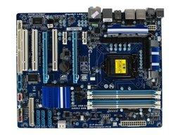 Wholesale Gigabyte Motherboard I3 - GA-P55A-UD3R Original Used Desktop Motherboard P55A-UD3R P55 LGA 1156 i3 i5 i7 DDR3 16G SATA3 USB3.0