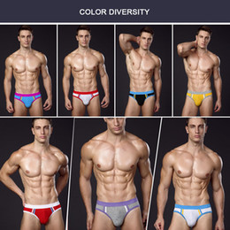 Wholesale Male Jockstrap Underwear - underwear men calzoncillos mens briefs hombre slips brief jockstrap men's underpants pouch men sexy male for man
