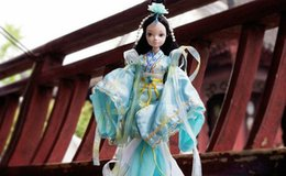Wholesale Kurhn Chinese Myth - Free Shipping 29cm Kurhn Joint Body Dolls Chinese Myth Dolls Goddess Dolls 9031 Best Gift Dolls For Children
