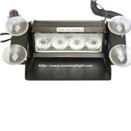 Wholesale Hazard Emergency Warning - auto led high power strobe light emergency 4 LED Hazard Warning Flashing Strobe Light With Suction Cup Mounts