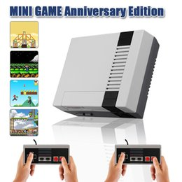 Wholesale Pc For Tv - 2017 TV Handheld Game Console Mini Video Game Player Console For Nintendo NES Windows PC Mac with 620 Built-in Games With Box