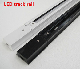 Рельс следа Сид 1m,разъемы рельса следа светлые, всеобщие рельсы, алюминиевый след, приспособления освещения, чернота,белизна, серебряная раковина от