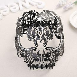 Toptan-Kafatası Koleksiyonu Telkari Lazer Kesim Metal Venedik Masquerade Mans Maske nereden