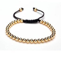 Wholesale Macrame Jewelry - Beichong Macrame Bracelet Men Anil Arjandas Bracelets Bead Charm Bracelet Bileklik Men's Jewelry